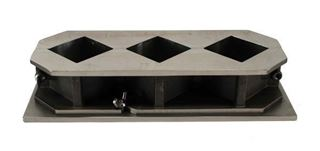 Stainless Steel Cube Mold, 2 x 2in