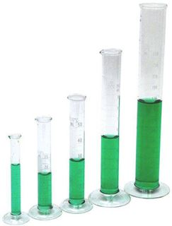 50ml Glass Graduated Cylinders (Package of 4)
