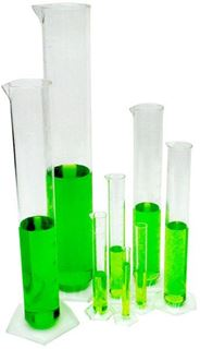 50ml Plastic Graduated Cylinder (Package of 5)