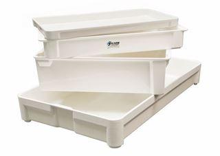 5.4qt. Fiberglass Plastic Reinforced Stacking Pan