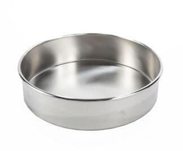 200mm All Stainless Sieve Pan, Full Height