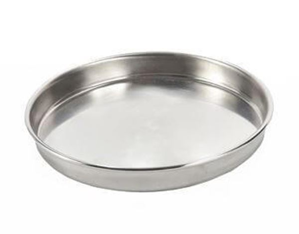 200mm All Stainless Sieve Pan, Half Height