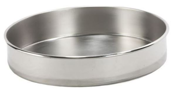 300mm All Stainless Sieve Pan, Full Height