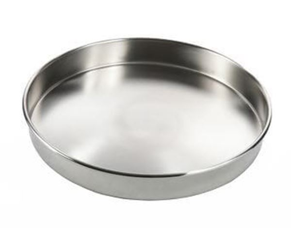 300mm All Stainless Sieve Pan, Half Height