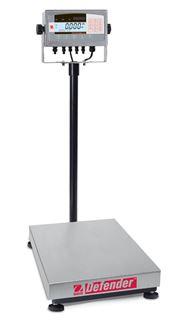 60,000g Capacity Ohaus Defender 7000 Bench Scale w/ Column, 15.7x19.7in Platform