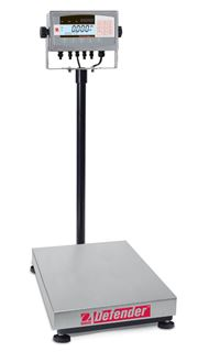 100,000g Capacity Ohaus Defender 7000 Bench Scale w/ Column, 15.7x19.7in Platform