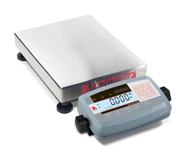 60kg Ohaus Defender 7000 Bench Scale, 15.7x19.7in Platform