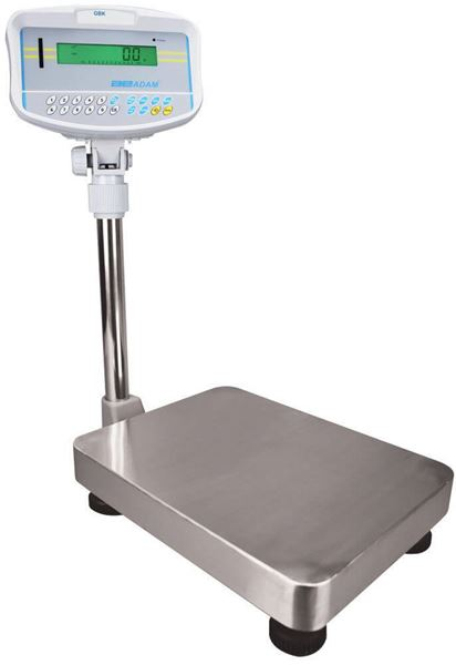60,000g Capacity Adam GBK Bench Scale, 2g Readability