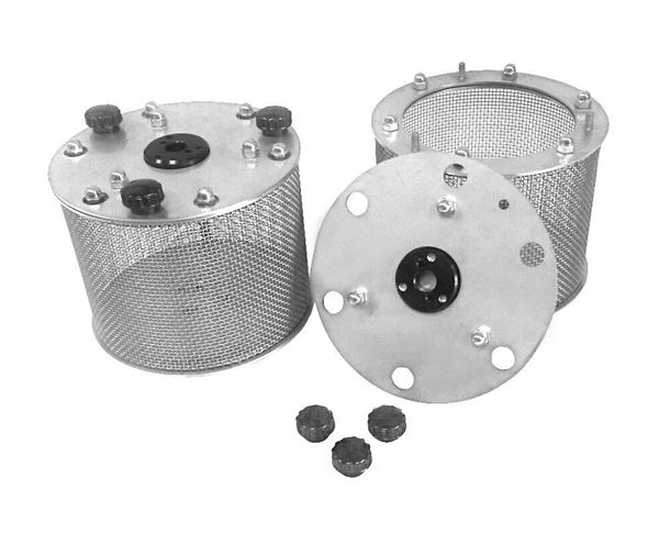 Wire Mesh Drums for Slake Durability Device