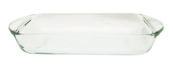 2qt. Rectangular Glass Dish