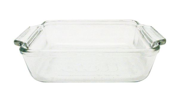 1.5qt. Square Glass Dish