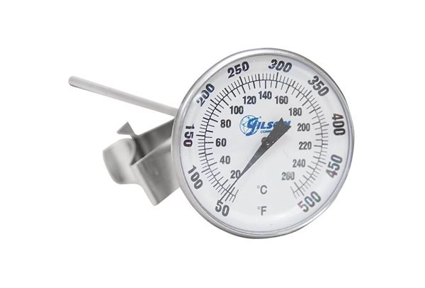 Dual Range Dial Thermometer, 50°—500°F / 10°—265°C