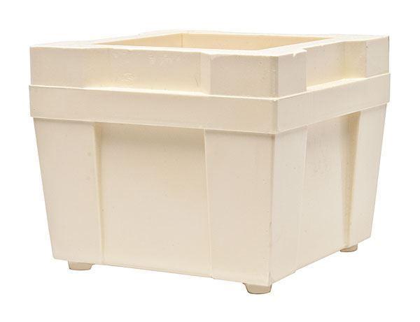 Premium Plastic Concrete Cube Mold, 150x150mm
