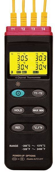 4-Channel Thermometer