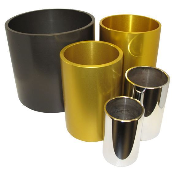 Stainless Steel Sleeves for HDPE Jars