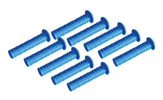 Plastic Hole Liner Sleeves w/ Caps, Extra Long (Package of 10)