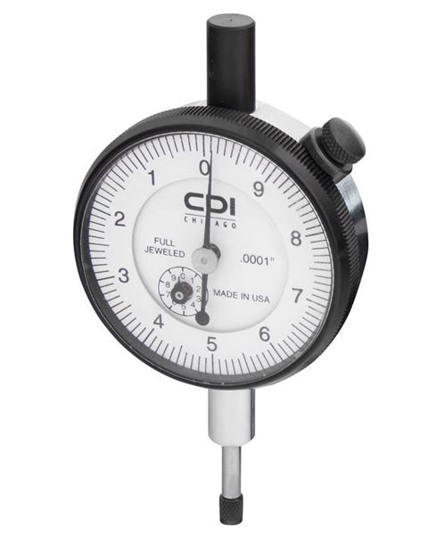 Mechanical Dial Indicator - 0.5 x 0.0001in (Range x Divisions)