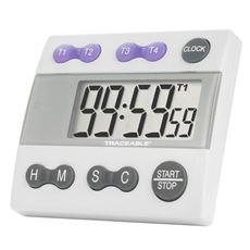 Four Channel Traceable® Alarm Timer