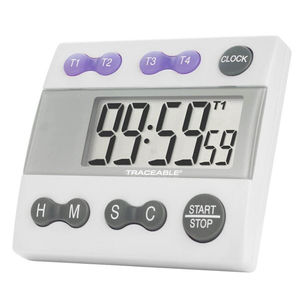 Four Channel Traceable® Alarm Timer