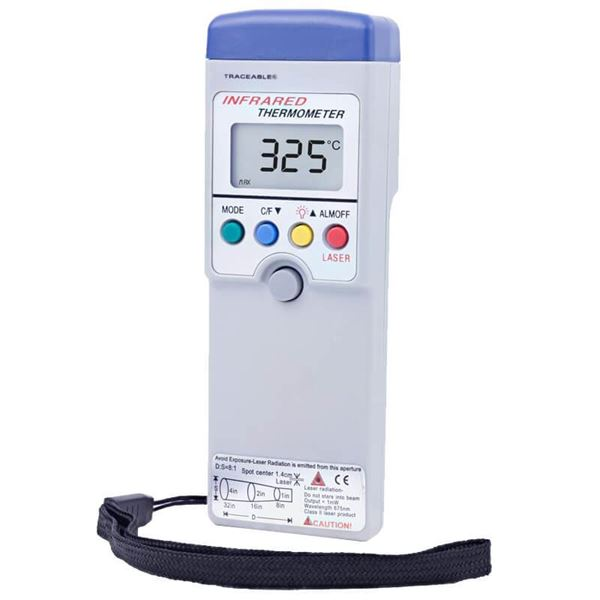 Traceable Infrared Memory/Alarm Thermometer