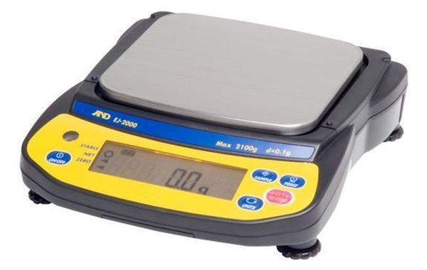 A & D Newton 2100g Compact Balance shown
