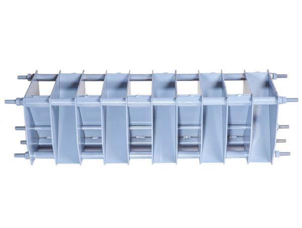 2-1/4in Fixed Chute Adapter For SP-1 Sample Splitter