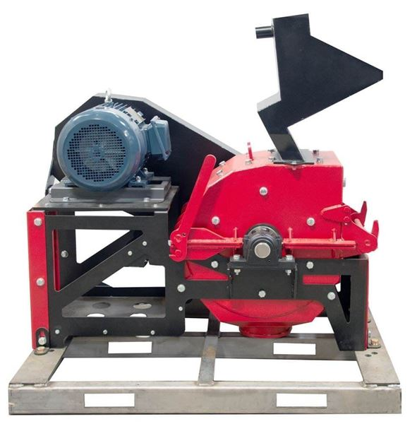 Portable Hammermill Crusher, 15hp Electric Motor