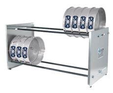 Adjustable Bench Sieve Rack