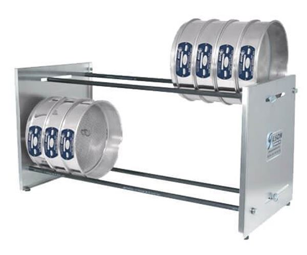 Adjustable Bench Sieve Rack (Sieves not included)
