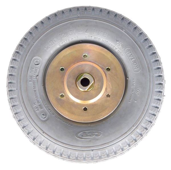 ASTM Tired Wheel Assembly