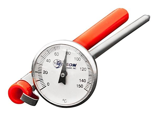 Pocket Dial Thermometer, 0°—150°C