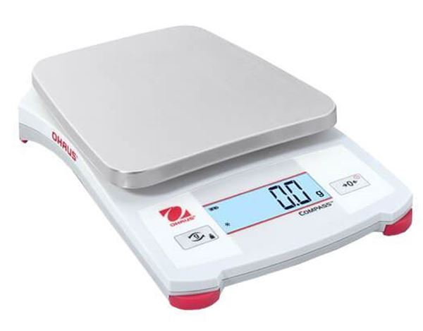 220g Capacity Ohaus Compass™ CX Portable Scale, 0.1g Readability