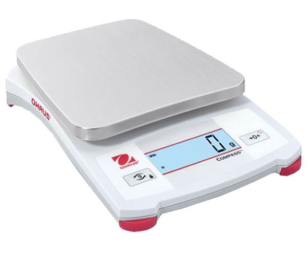 2,200g Capacity Ohaus Compass™ CX Portable Scale, 1.0g Readability