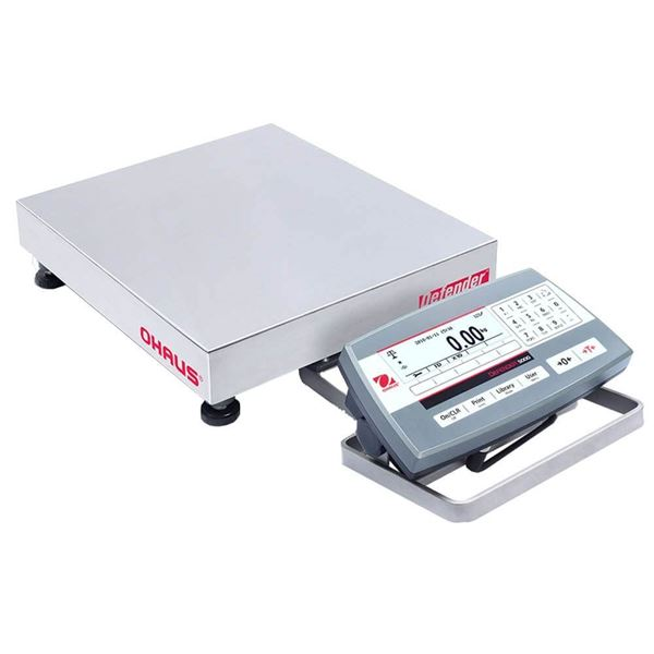 25,000g Capacity Ohaus Defender 5000 Bench Scale, 12x12in Platform