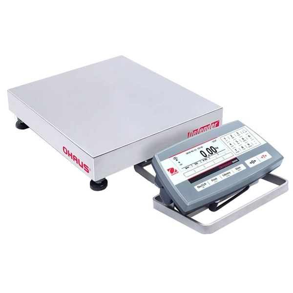 12,500g Capacity Ohaus Defender 5000 Bench Scales, 2g Readability