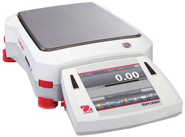 6,200g Capacity Ohaus Explorer® Precision Balance, 0.1g Readability