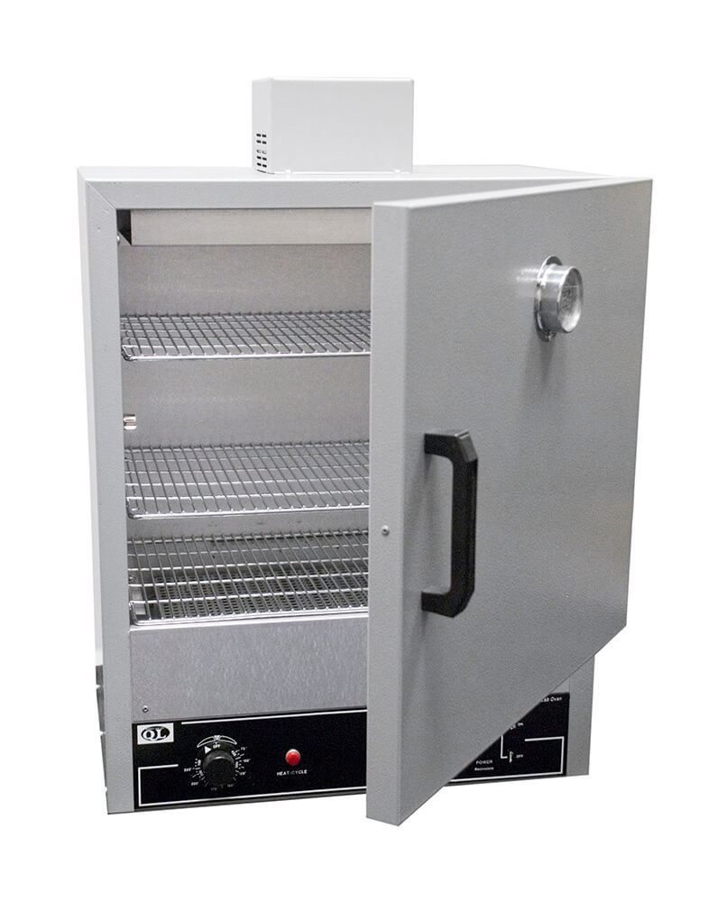 115V 1.14 cubic feet Capacity 1000W 15 Width x 24.5 Height x 15 Depth Quincy 20AF Hydraulic Forced-Air Gravity Convection Oven