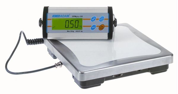 15,000g Capacity Adam CPW Plus Bench Scale, 5g Readability