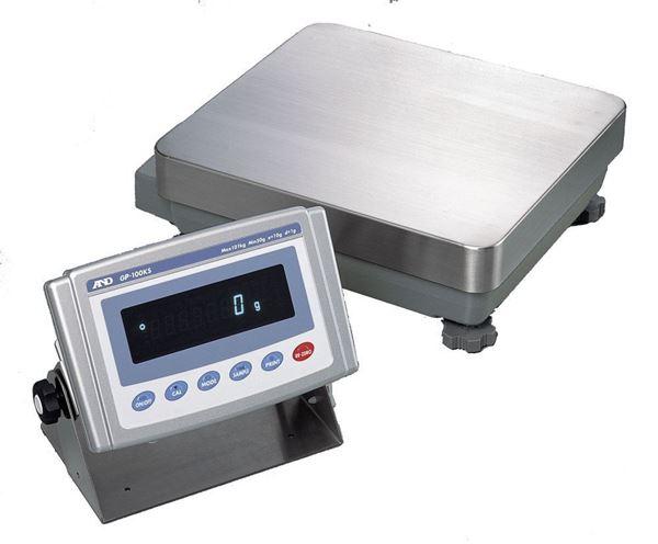 101,000g Capacity A&D GP Industrial Balance, Detached Display, 1g Readability