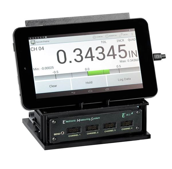 Digital Dial Indicator Data Collection System