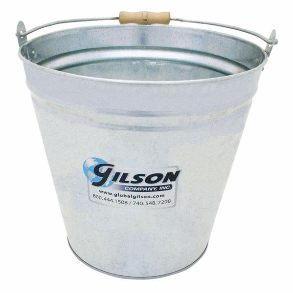 Galvanized Steel Sample Bucket