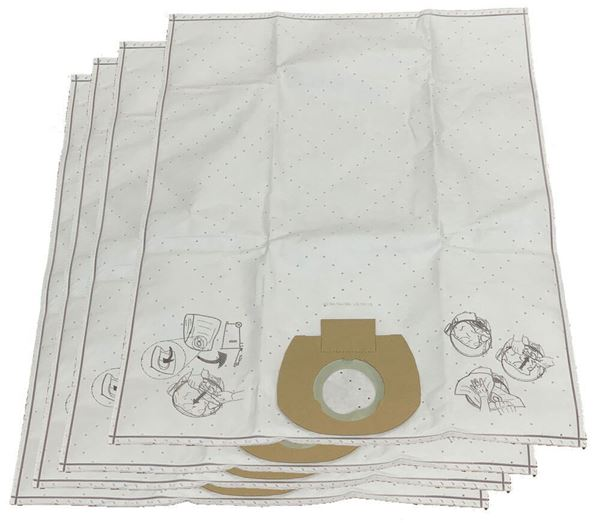 Filter Bags for Vacuum System for Fines