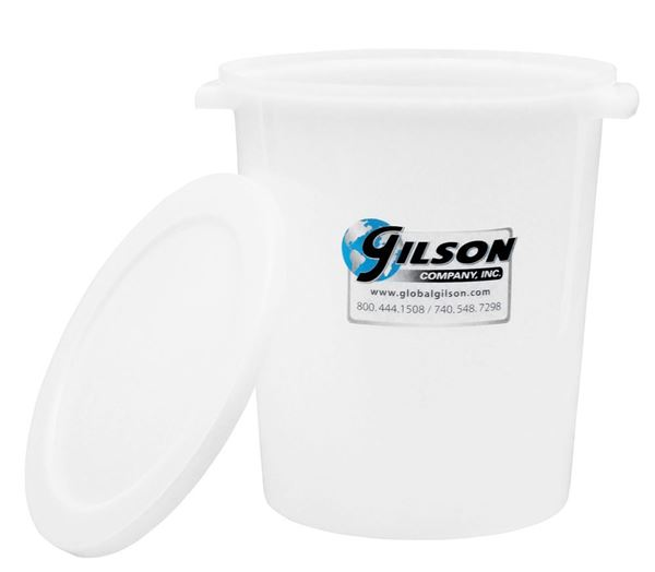 12qt Polyethylene Sample Container with Lid