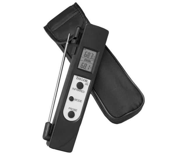 Infrared / Thermocouple Thermometer, -27°— 428°F (-33°— 220°C)