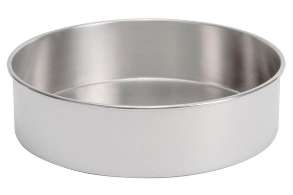 "18"" All Stainless Sieve Pan, Full Height"