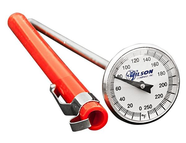Pocket Dial Thermometer, 0°—250°F