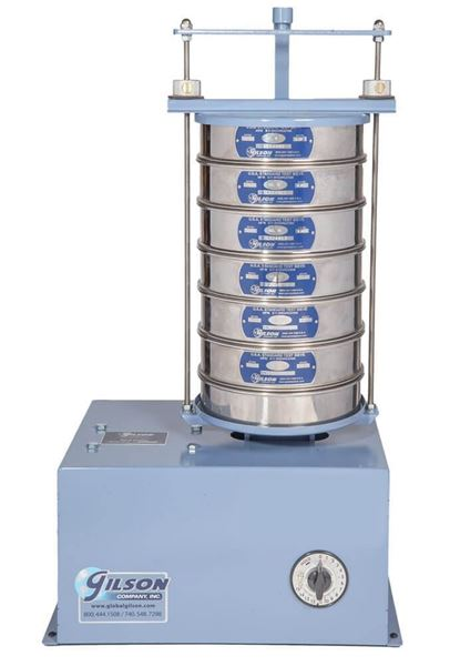 Orbital 8in Sieve Shaker with Mechanical Timer (Sieves not Included)