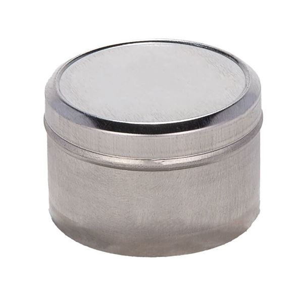 2oz. Tinned-Metal Sample Container