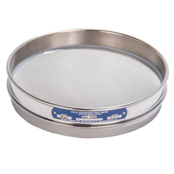 """8"""" Sieve, All Stainless, Half Height, No. 325"""