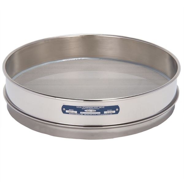 """12"""" Sieve, All Stainless, Intermediate Height, No. 35"""